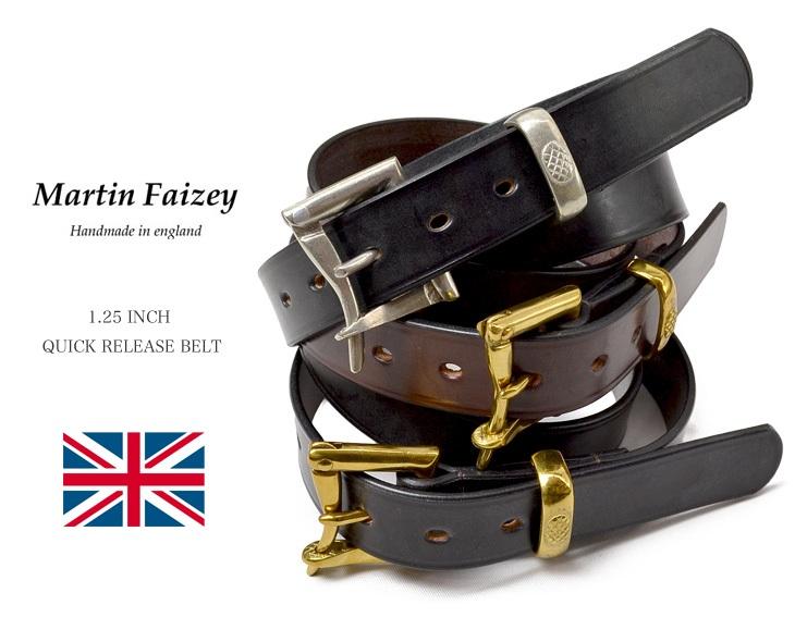 馬丁 FAIZE (馬丁 · 菲戈) 1.25 英寸 (30 毫米) 快速釋放帶皮帶和 1.25 英寸快速釋放帶