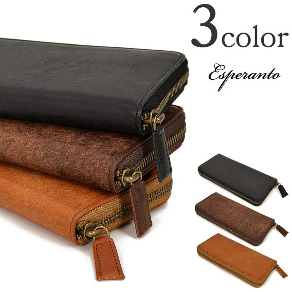ESPERANTO(エスペラント) プエブロ レザーラウンドウォレット / 長財布 / メンズ / PUEBLO NEW ROUND WALLET / ESP-6433 / 日本製