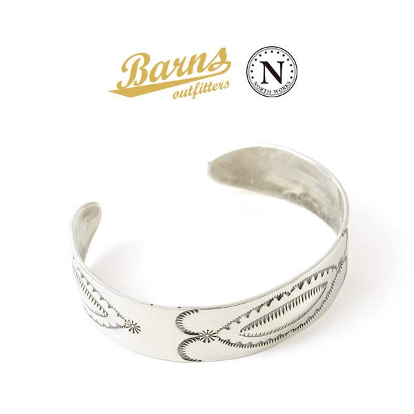 BARNS(バーンズ)×NORTH WORKS(ノースワークス) スターリング シルバー バングル / メンズ / レディース / シルバー925 / 日本製 / BR-6962