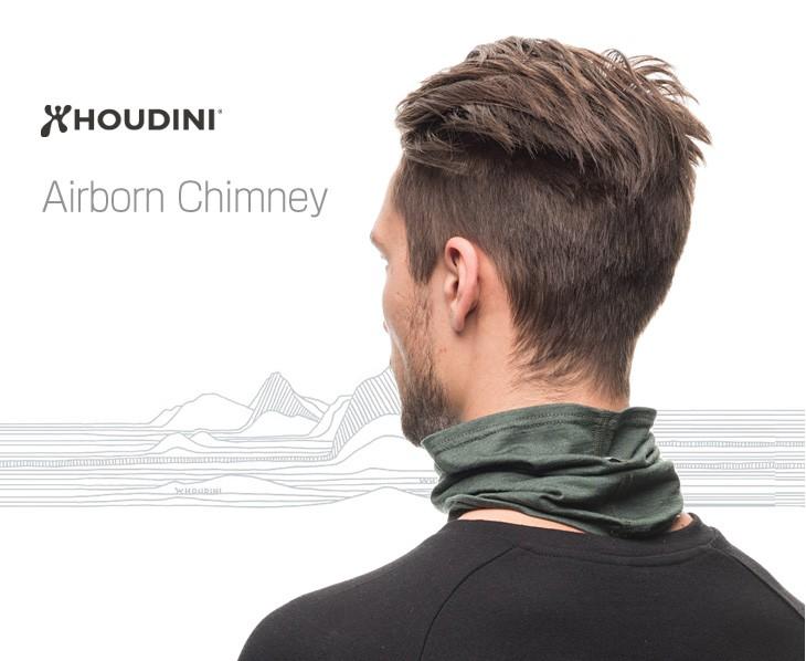 胡迪尼 (胡迪尼/hudini) 机载的烟囱脖子绑腿/颈部温暖/头箍/男装/女装 / 机载烟囱