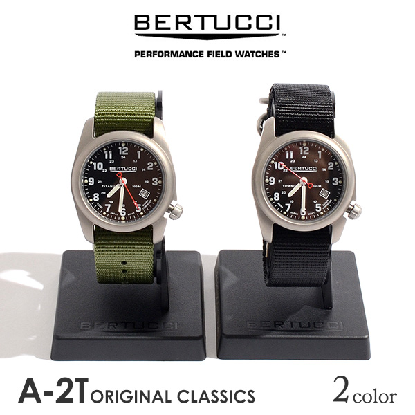90abc2551f2 BERTUCCI (ベルトゥッチ) A-2T original classical music watch   watch   men   military  watch   12022   12122