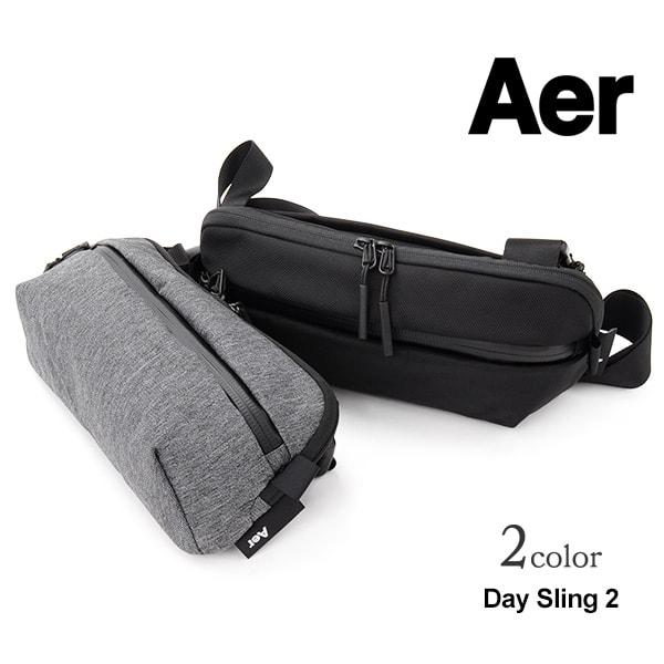 【5%OFFクーポン対象】AER(エアー) デイスリング 2 / ボディバッグ / ウエストバッグ / ショルダーバッグ / メンズ / TRAVEL COLLECTION / DAY SLING 2
