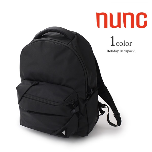 【W記念!11%OFFクーポン対象】NUNC(ヌンク) ホリデイ バックパック / リュック / デイパック / 軽量 / メンズ / HOLIDAY BACKPACK / NN011010 / ubo