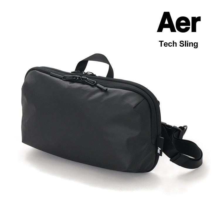 【2点以上で10%OFFクーポン】AER(エアー) テックスリング / ショルダーバッグ / ビジネス 仕事 出張 / メンズ / WORK COLLECTION / TECH SLING