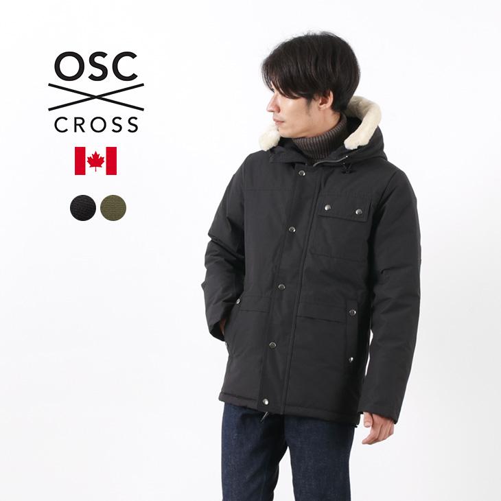 氷点下-25度にも耐えうるカナダのダウンジャケット 40%OFF OSC 買物 CROSS オーエスシークロス ラサール ダウンジャケット M09CX メンズ MENS セール カナダ製 LASALLE 授与