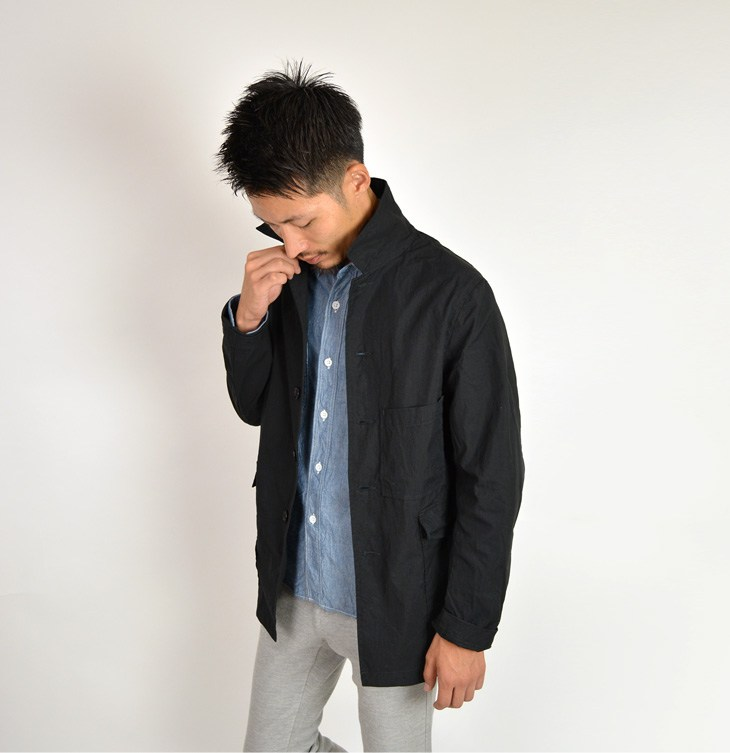 FOB FACTORY (FOB factory) F2344 railroad jackets / work jackets and coveralls / men's / made in Japan
