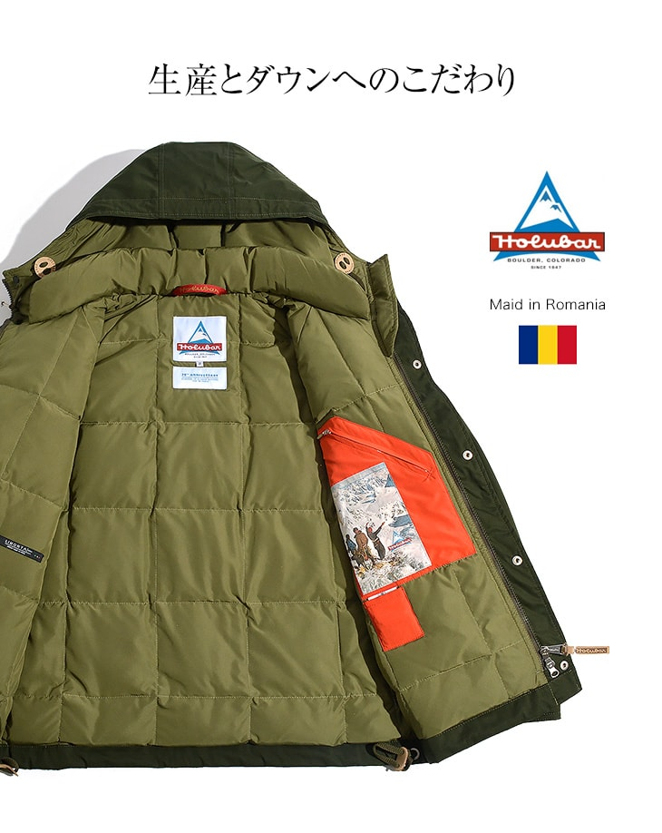 Italian military surplus parka
