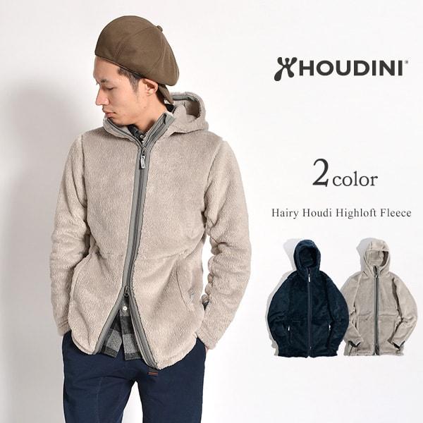 HOUDINI (フディーニ/フーディニ) ヘアリーフーディー ハイロフト ジップパーカー / フリースジャケット / メンズ / HAIRY HOUDI HIGHLOFT FLEECE