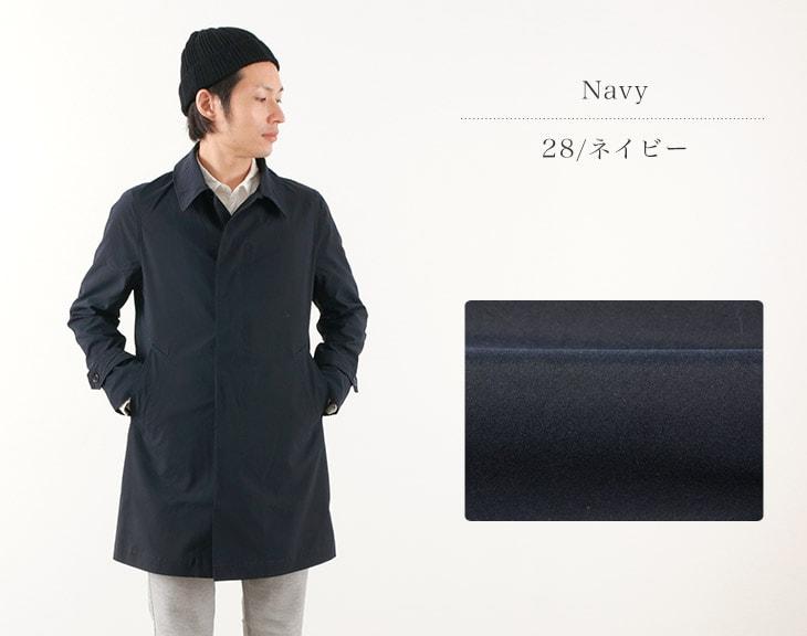 FOB FACTORY(FOBファクトリー) F2335 トレンチコート / ステンカラーコート / スプリングコート / メンズ / 日本製 / TRENCH COAT