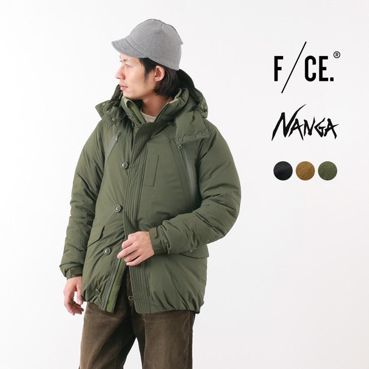 【ポイント10倍!20日23:59まで】F/CE. × NANGA(エフシーイー × ナンガ) N3-B タイプA ダウンジャケット / メンズ / 日本製 / FT N3B TYPE A JK