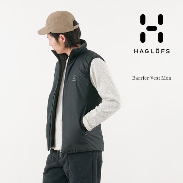 HAGLOFS(ホグロフス) バリヤーベスト / 中綿 / 軽量 撥水 / アウトドア / メンズ / BARRIER VEST MEN