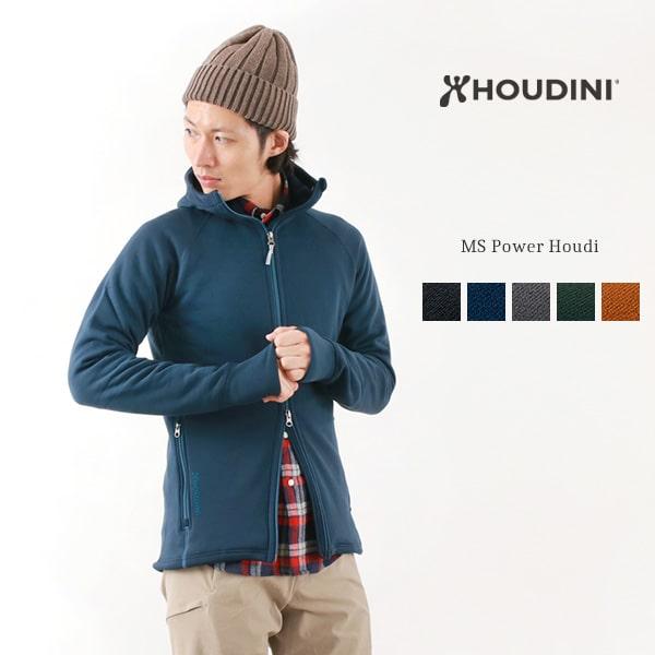 HOUDINI (フディーニ/フーディニ) メンズ パワーフーディー / アウトドア パーカー / フリースジャケット / 裏起毛 あったか ストレッチ / MS POWER HOUDI