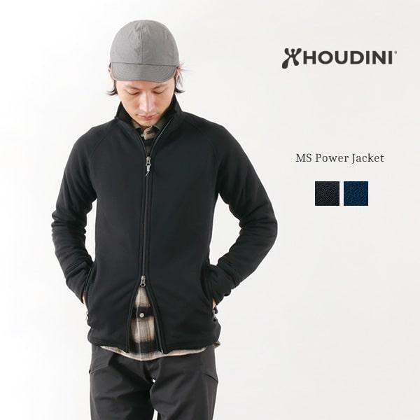 HOUDINI (フディーニ/フーディニ) メンズ パワージャケット / アウトドア / フリースジャケット / 裏起毛 あったか ストレッチ / MS POWER JACKET / awf