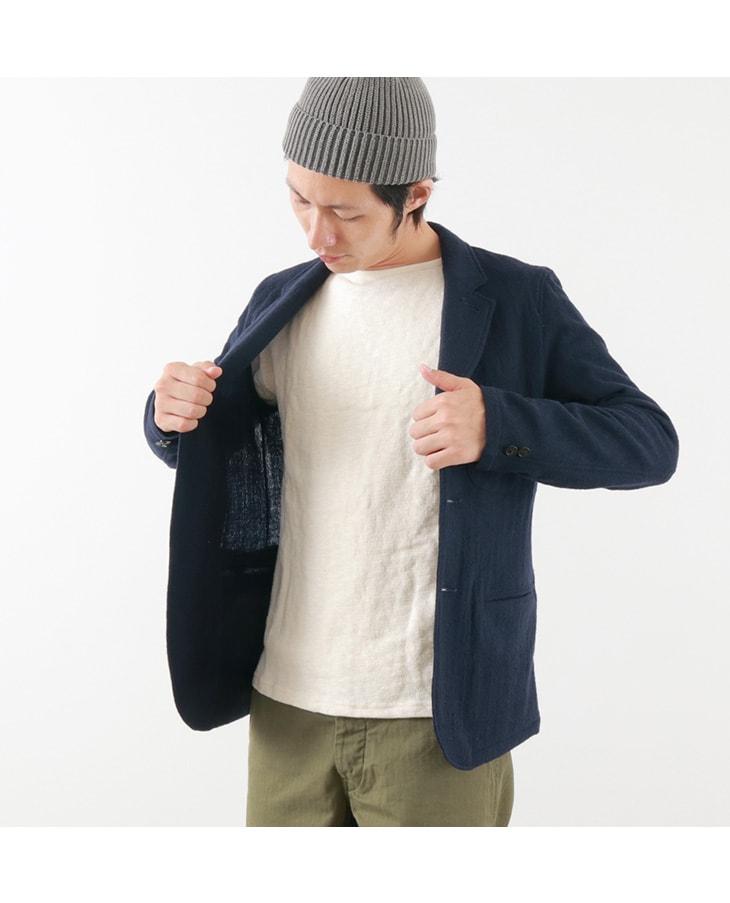 ROCOCO(ロココ) エアリーウール テーラードジャケット / メンズ / 日本製
