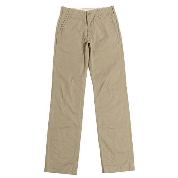 FOB FACTORY(FOB工厂)F0288复古裤子/卡其色系短裤/人/棉布裤子/日本制造/VINTAGE TROUSER