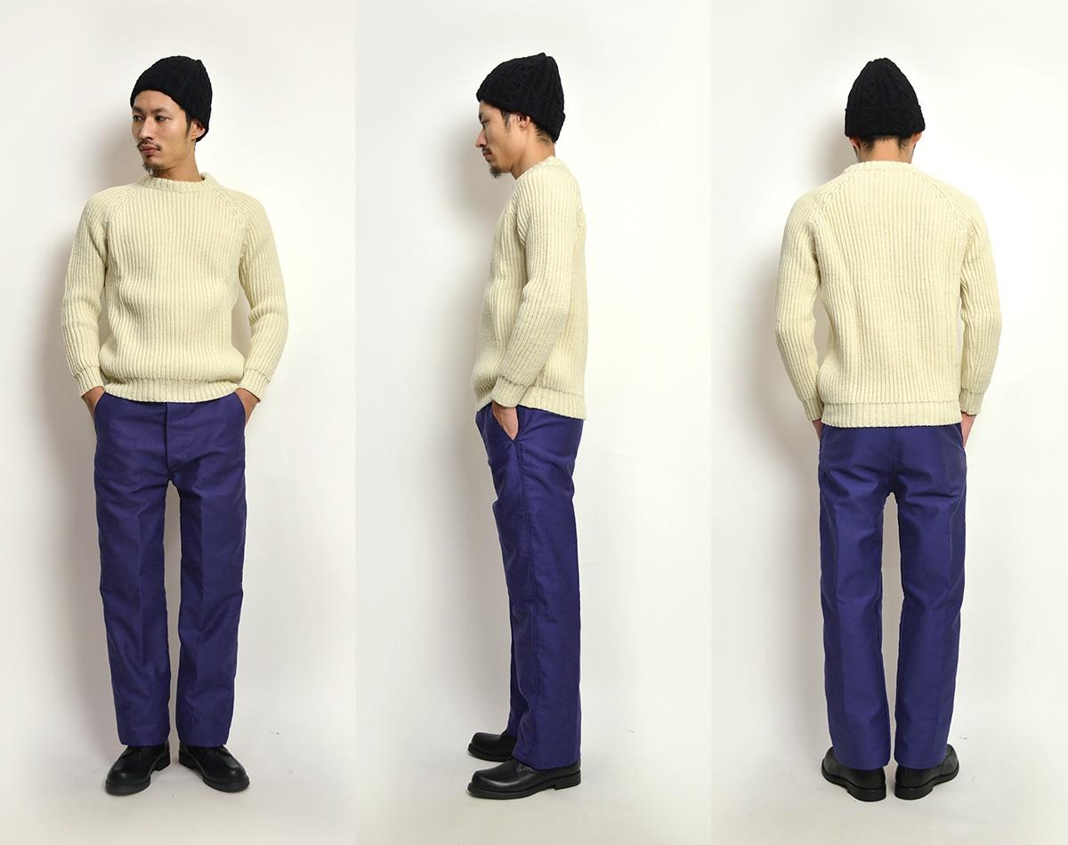 LE LABOUREUR (Le 爱) 鼹鼠皮工作裤 / 男装 / MOLESKINE 工作裤