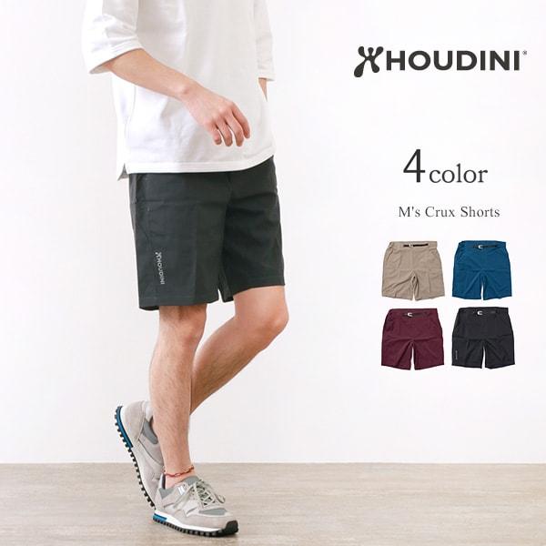 HOUDINI(フディーニ/フーディニ) クラックスショーツ / ショートパンツ / ストレッチ / アウトドア メンズ ドライ / M's Crux Shorts