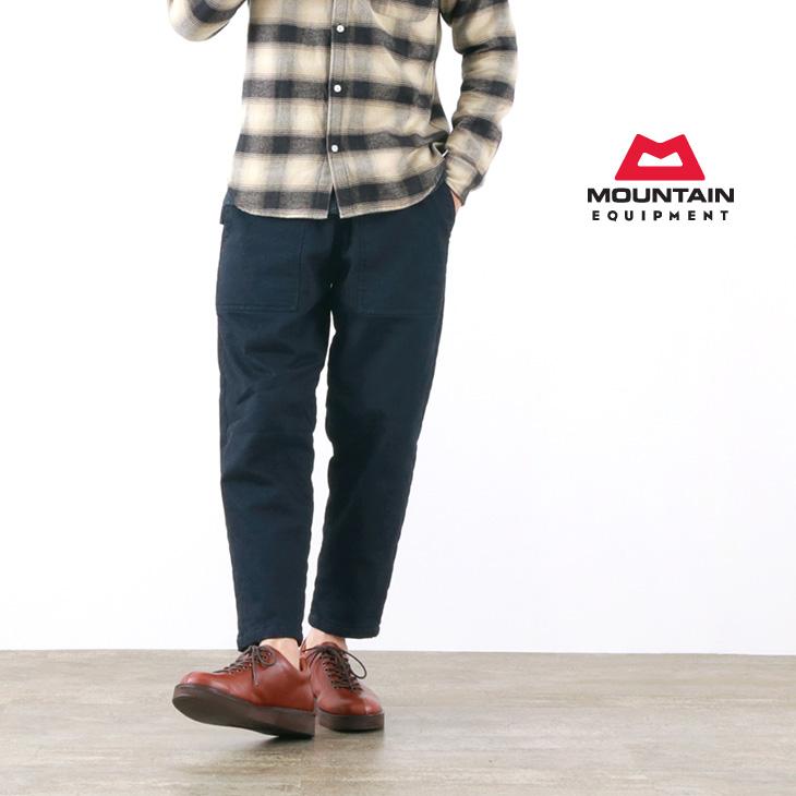 MOUNTAIN EQUIPMENT(マウンテンイクイップメント) キルティド デニム ファティーグパンツ / キルティング 中綿 あったか / メンズ / QUILTED DENIM FATIGUE PANTS