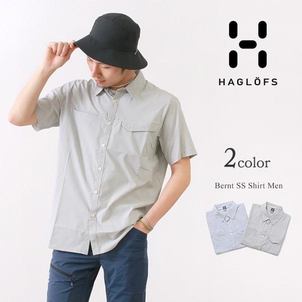 HAGLOFS(ホグロフス) ベルント ショートスリーブ シャツ メンズ / 半袖 / 薄手 軽量 消臭 / アウトドア / BERNT SS SHIRT MEN