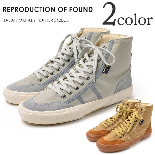 ROCOCO attractive clothing | Rakuten Global Market: REPRODUCTION OF FOUND (reproduction of found) an Italian trainer/cut/sneaker/men's / ITALIAN MILITARY TRAINER 3600CS