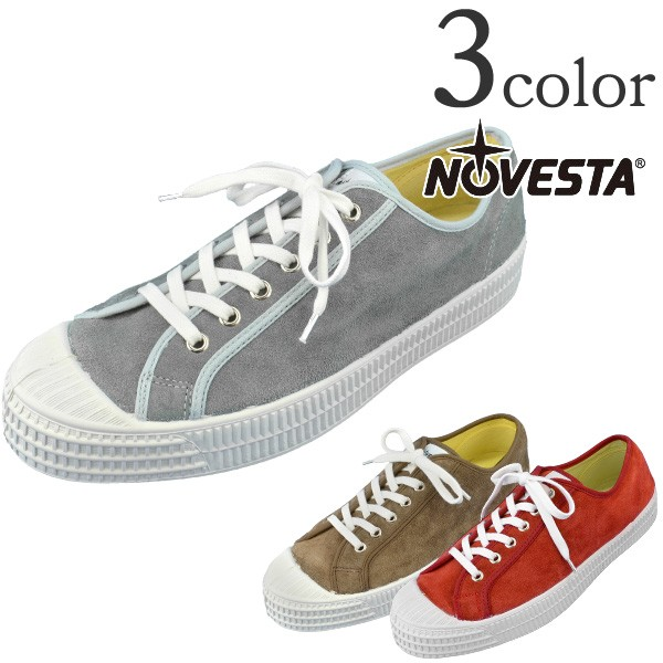 NOVESTA (Nobe studio) suede sneakers low-frequency cut SNEAKER STAR LOW SUEDE