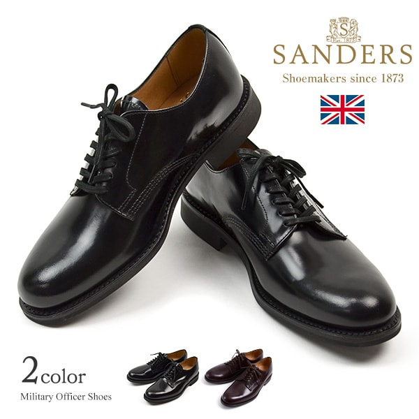 ba9dd9dde31 Product made in SANDERS (Sanders) #1384 military officer shoes / leather  shoes leather ...