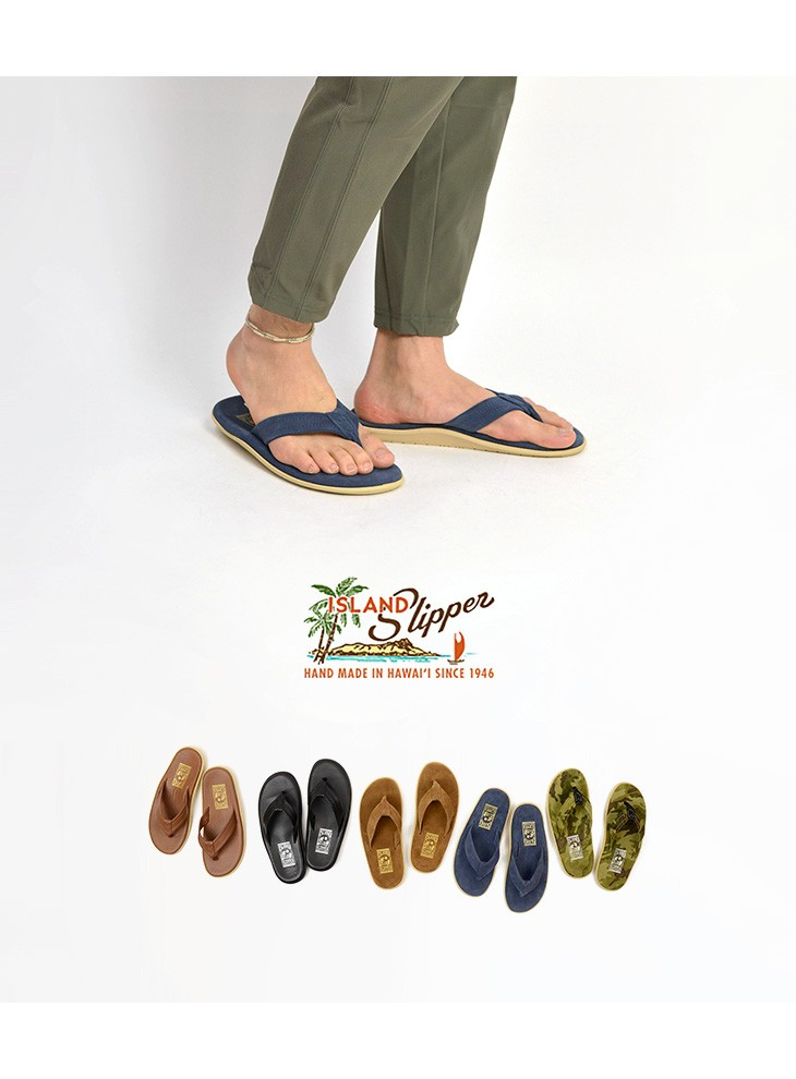 Island Slipper Slippers Leather Sandals Suede Beach Sandal Tong