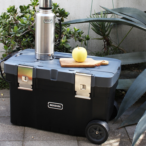 molding TRUNK BOX CART 67L with Casters トランクツールボックス カート キャスター付