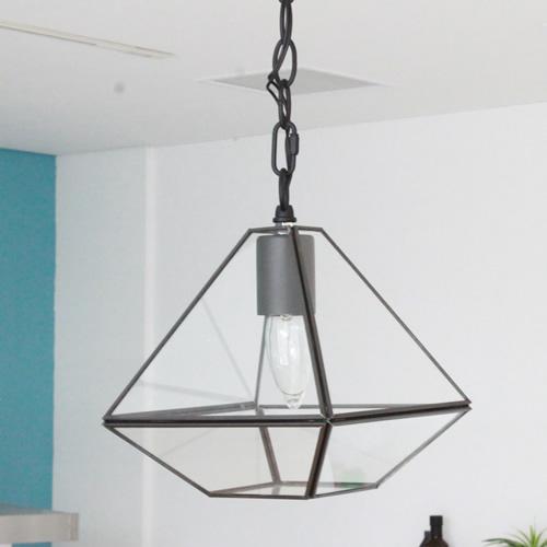LAMP by CRAFT TERRARIUM 1 BULB PENDANT LIGHT テラリウム型 1灯 ペンダントライト(SQUARE・TRIANGLE)