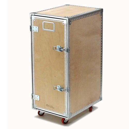 ダルトン Wooden cabinet w/castors 4layers (キャスター付き木製キャビネット)113-296-4L