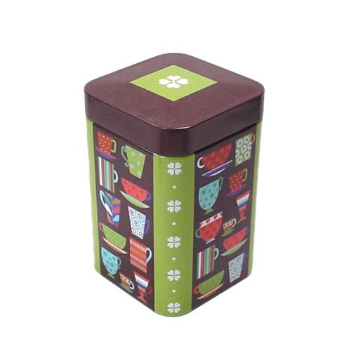 メーカー再生品 袋入りのティーリーフの保管に便利 卓越 IHR フレッシュリーメイド ティー缶