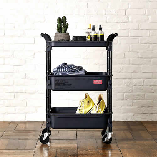 HEAVY-DUTY tray-shelf cart ヘビーデューティートレイシェルフカート TR-4326