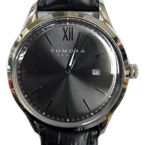 TOMORA メンズ腕時計 Classic Date T-1605S-SGY グレー