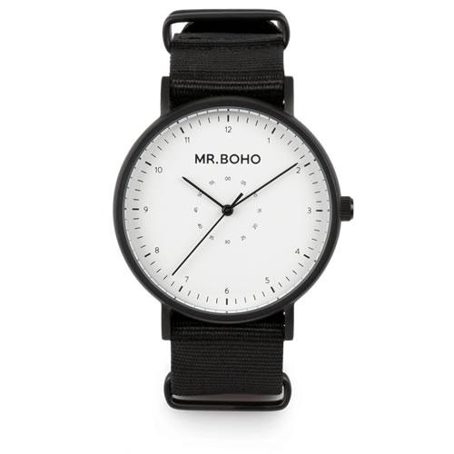 Mr.BOHO ミスターボーホー CASUAL 腕時計 5気圧防水 67-BW