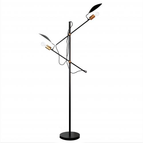 楽天市場】HERMOSA ポルダーフロアランプ POLDER FLOOR LAMP FP-007 ...