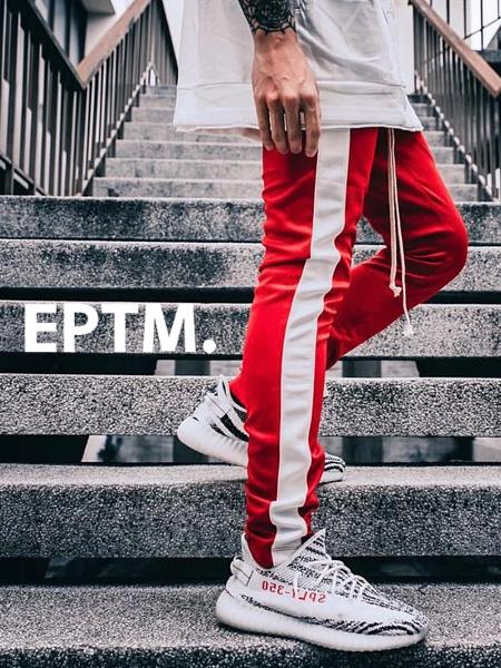 EPTM エピトミ パンツ トラックパンツ メンズ レディース ユニセックス RED/WHITE TECHNO TRACK PANTS ジャージー ジャージ ロングパンツ サイドライン アメリカ製 Made in USA ボトムス EP7590