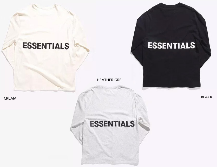 c8e356e1cd For a limited time! Size Boxy Graphic Long Sleeve TEE boxy 504950 which  product Fear of God T-shirt men gap Dis unisex long sleeves FOG ESSENTIALS  ...