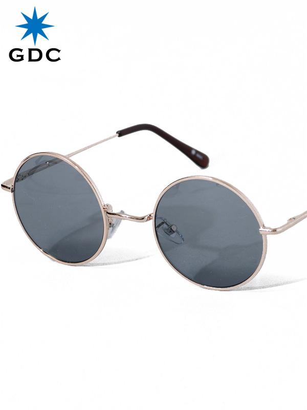 GDC サングラス メンズ レディース ユニセックス ブランド おしゃれ かわいい 丸 薄い 色 ネイビー 丸メガネ ジーディーシー WANDERLUST ワンダラスト GGDC 眼鏡 メガネ カラーレンズ ドライブ フェス 海 33030-NVY