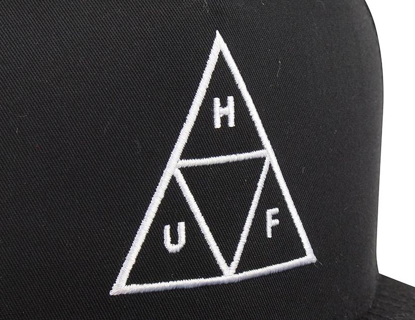 2bf2a828e HUF Hough cap hat CAP men gap Dis unisex TRIPLE TRIANGLE SNAPBACK triple  triangle snapback embroidery logo 5 panel street skater skateboarding  skating ...