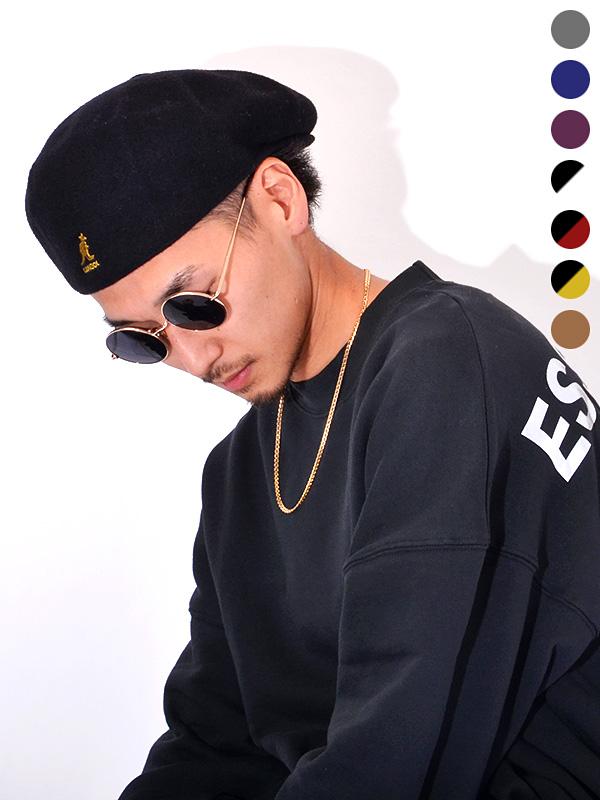 KANGOL カンゴール ハンチング キャスケット 帽子 メンズ レディース ユニセックス ベレー帽 ブランド 大きいサイズ かわいい おしゃれ SMU WOOL GALAXY ギャラクシー 日本別注 日本限定 BACK TO FRONT K3240SM 188-169501 198-169502