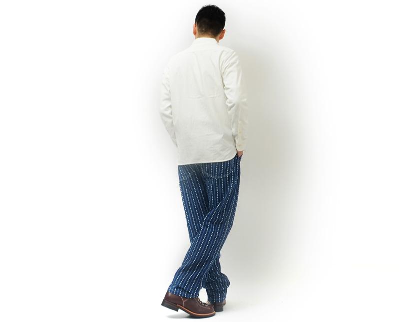 小岛牛仔裤小岛牛仔裤牛仔特朗普沃巴什画家裤取得日本 RNB-1158年