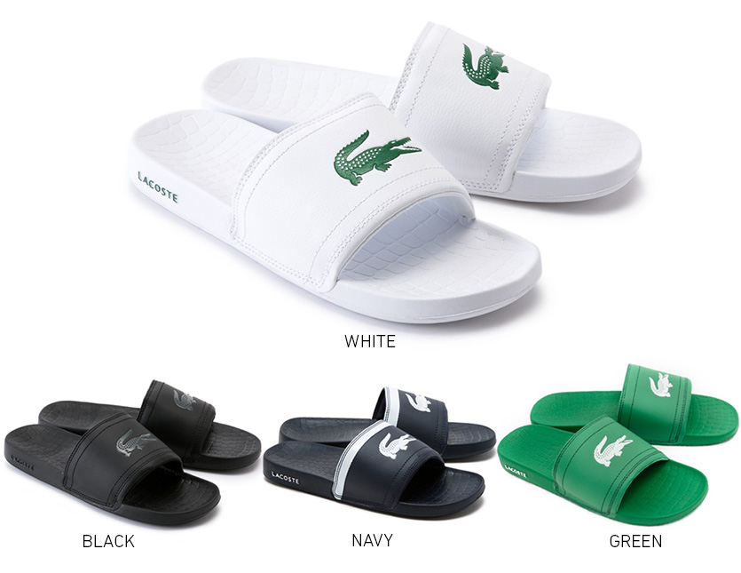 993346a375b9 rodeo-2nd  LACOSTE Lacoste men sandals FRAISIER BRD1 shower sandal ...