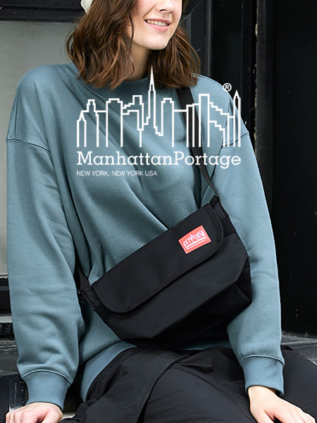 Manhattan Portage マンハッタンポーテージ カジュアル メッセンジャーバッグ バッグ メンズ レディース ユニセックス ショルダーバッグ 斜めがけ Casual Messenger XS XXS 正規品 男女兼用 通勤 通学 MP1603