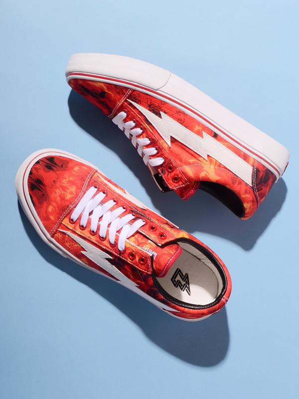 1e4bcff89b36 REVENGE X STORM revenge X storm sneakers men gap Dis unisex REVENGESTORM  revenge storm ALL RED FLAME frame low-frequency cut shoes shoes Ian Connor  Ian ...