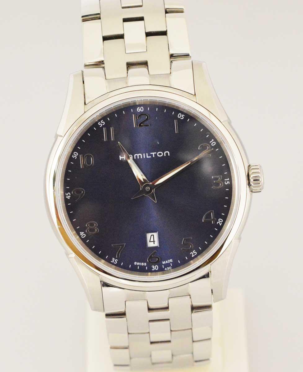 (2833) 【その他】 ハミルトン Hamilton H385111 ジャズマスター シンライン クォーツ メンズ [時計(メンズ)] 【中古】