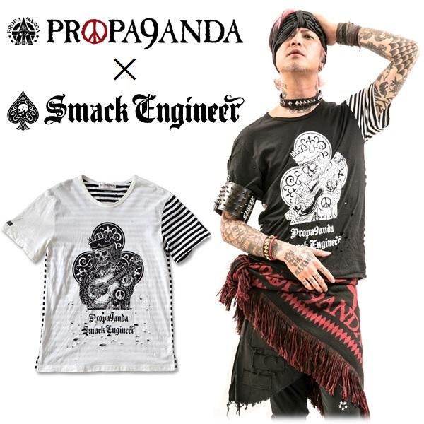 大きい Tシャツ ブラック ホワイト 半袖 メンズ ノーコメントパリ fun gizmo TEE SHIRT ラウンドネック