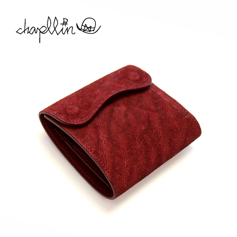 chapllin チャップリン ウォレット 5th ANNIVERSARY LIMITED MODEL 「rouGe」 ELEPHANT LEATHER COINLESS WALLET CPW-SMT-EL-RG 【財布 本革 エレファント 象革 レザー 三つ折り ショート ルージュ 限定】10P03Dec16