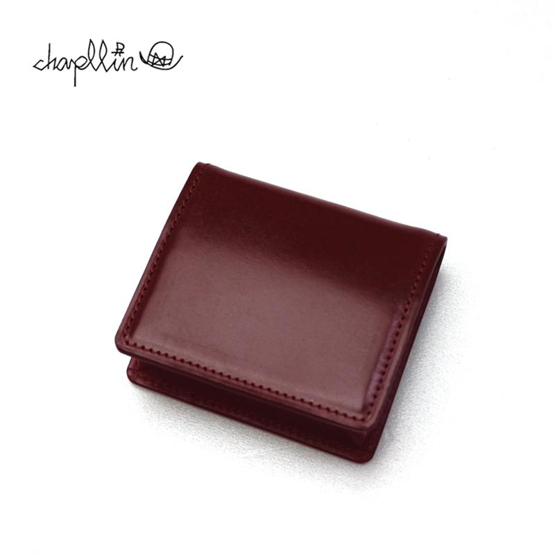 chapllin チャップリン コインケース BRIDLE LEATHER COIN CASE CPC-BOX-BRIDLE-VI 【革小物 本革 ブライドル レザー ヴィーノ ワインレッド】10P03Dec16