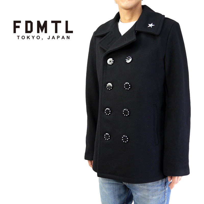 FDMTL ファンダメンタル FDMTL×SCHOTT ピーコート