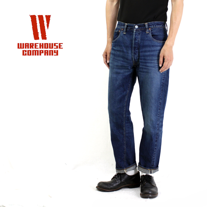 WAREHOUSE ウエアハウスパンツ2ND-HANDUSED WASH(濃) 2ND-HAND-1001 【メンズ デニム ジーンズ ユーズドウォッシュ ヴィンテージ】10P03Dec16